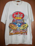 Coca Cola 600 T-Shirt Large Lowes Motor Speedway COKE Advertising Graphics - Paperink Graphics
