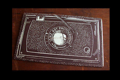 Antique Camera Graphics Design Packaging New Zealand Postcard Souvenir Folder - Paperink Graphics