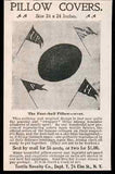 1898 Ad College Football Pillow Covers Textile
