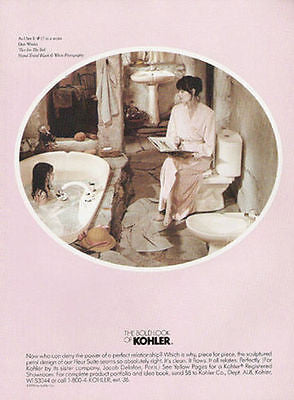 Kohler Bathroom Ad 1990 Interior Decor As I See It Two for the Tub