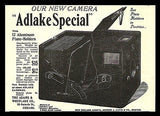 Antique Camera Photography Equipment AD 1898 ADLAKE Special Adams & Westlake Co. - Paperink Graphics