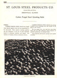 American Industrial Manufacturing AD 1926 Carbex Forged Steel Grinding Balls - Paperink Graphics