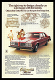 1978 Oldsmobile Delta 88 Automobile Car Ad Auto Photo Illustration Advertisement - Paperink Graphics