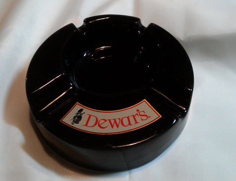 Dewars White Label Blended Scotch Whiskey Advertising Cigar Cigarette Ashtray - Paperink Graphics