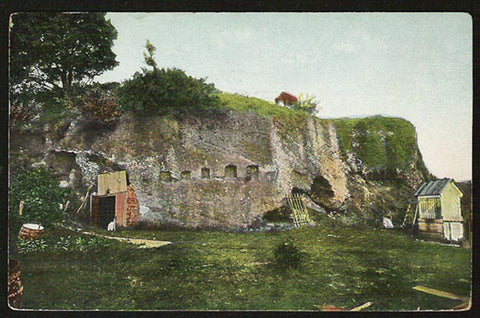 Cornwallis Cave Postcard 1908 Virginia Yorktown 1781 Surrender VA PC