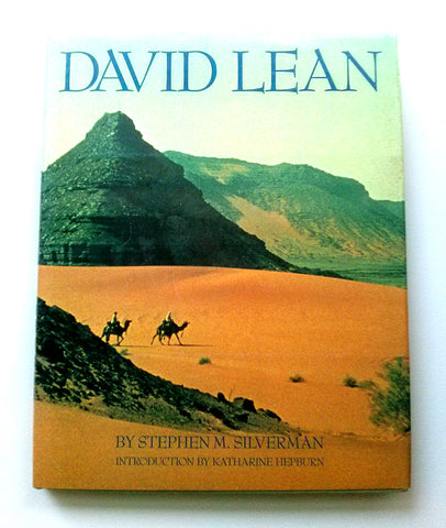 David Lean by Stephen M. Silverman Author Signed Producer Director Film HC Hardcover Book