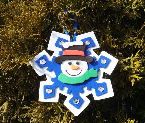 Ornaments paperink graphics two snowmen ornament kit diy do it yourself general craft supplies christmas tree decorations snowman decor solutioingenieria Gallery