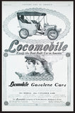Antique Automobile AD 1905 Art Print AD Locomobile Early Auto Print Advertisement Beautiful Women Two Women Drivers Artwork AD