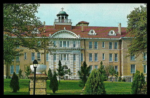 St .Joseph Orphanage Postcard Arkansas Little Rock Benedictine Nuns AR PC