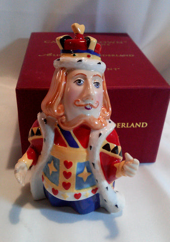 Alice in Wonderland KING of Hearts Candle Snuffer Original Department 56 Box - Paperink Graphics