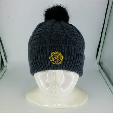 CAPITAL GAINS CABLE BEANIE - GREY