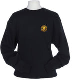 BADGE OFF CENTRE CREWNECK SWEATSHIRT