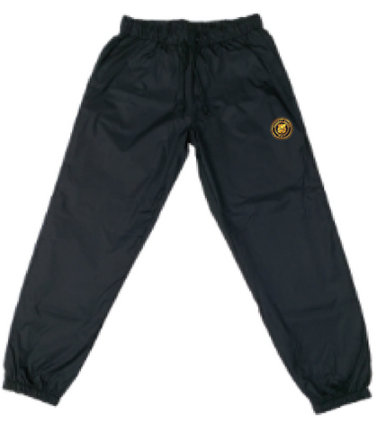 BADGE NYLON JOGGER PANTS