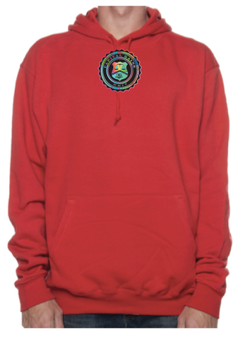 BADGE ICON HOODIE - MULTI-COLOR