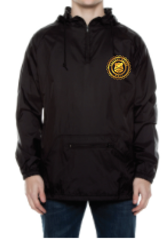 BADGE NYLON PULLOVER JACKET