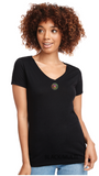 BADGE ICON V-NECK T-SHIRT