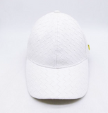 SHOW THEM THE CURVE: WHITE BASKET WEAVE
