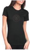 SOMETHING FOR THE LADIES TEE: BLACK