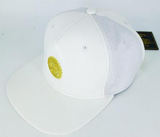 LEATHER MESH CAP