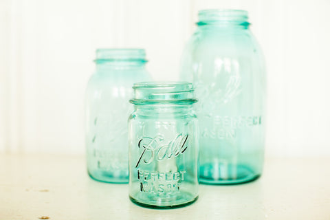 Ball Mason Jars - Various Sizes