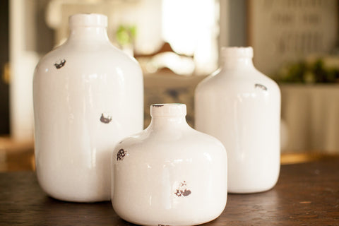 Crackled Jugs - Various Sizes