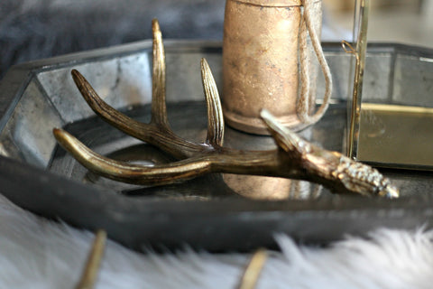 Decorative Antler - Gold