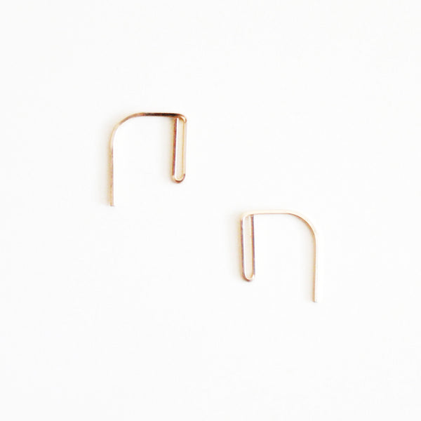 Double Bar Threader Earrings