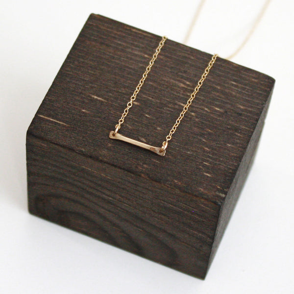 Bar Necklace - Short