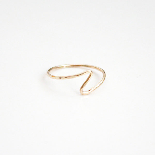 Hammered Ring - Wavy