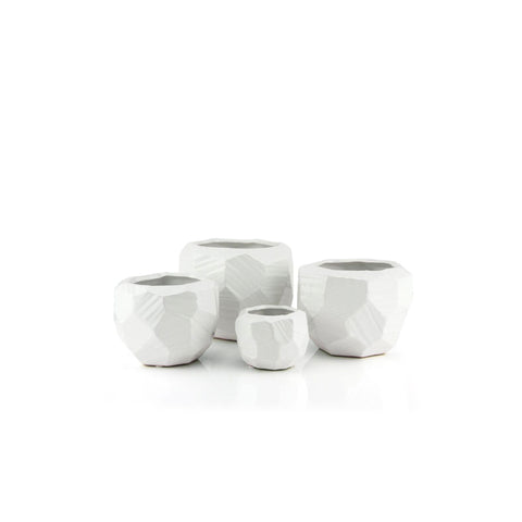 Modern Cutting Pots/White