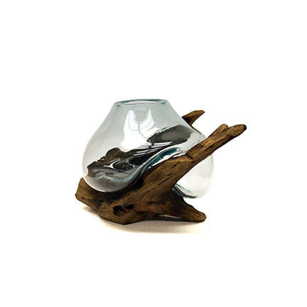 Melted Driftwood Glass 68686