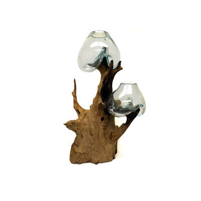 Melted Driftwood Glass 68689