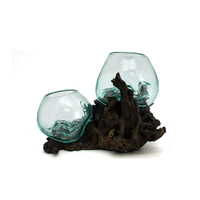 Melted Driftwood Glass 68814