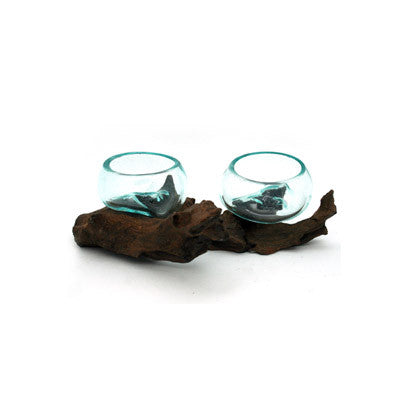 Melted Driftwood Glass 68935