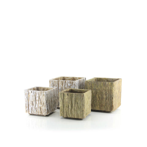 Bark Planter Collection