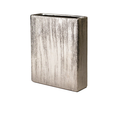 ETCHED METALLIC Rectangle-Silver