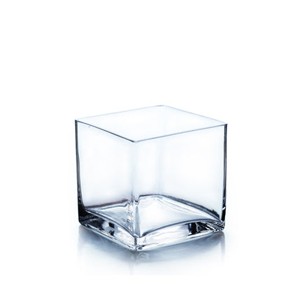 "Cube Vase:  Squre from 3"" to 8"""