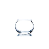 Clear Square Moon Vase