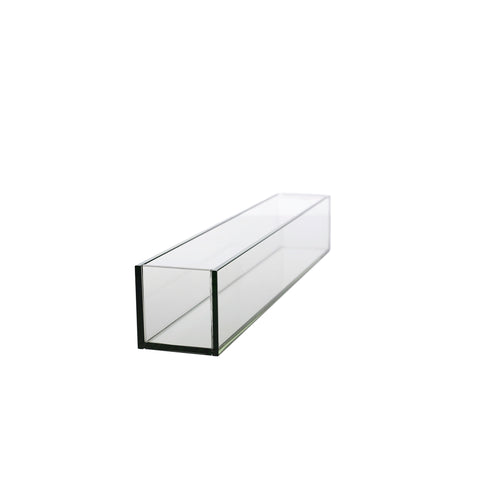 Rectangle Planted Glass Container