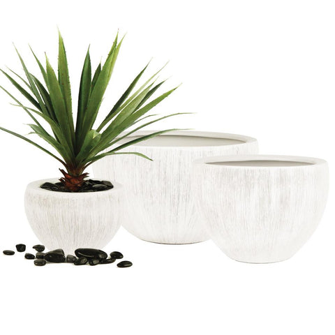 Tropical Planter-White