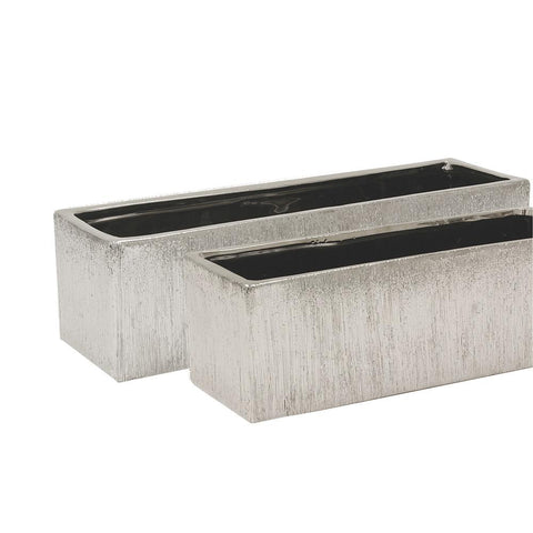 Copy of Copy of Etched metallic Window Box- Silver