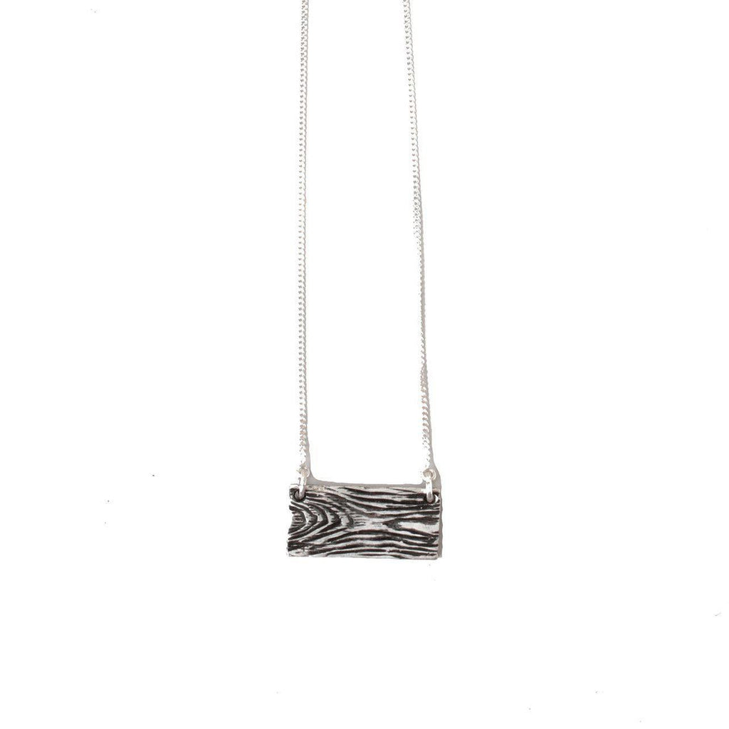 Floating Wood Grain-Necklace-Peaks & Prairies Jewellery