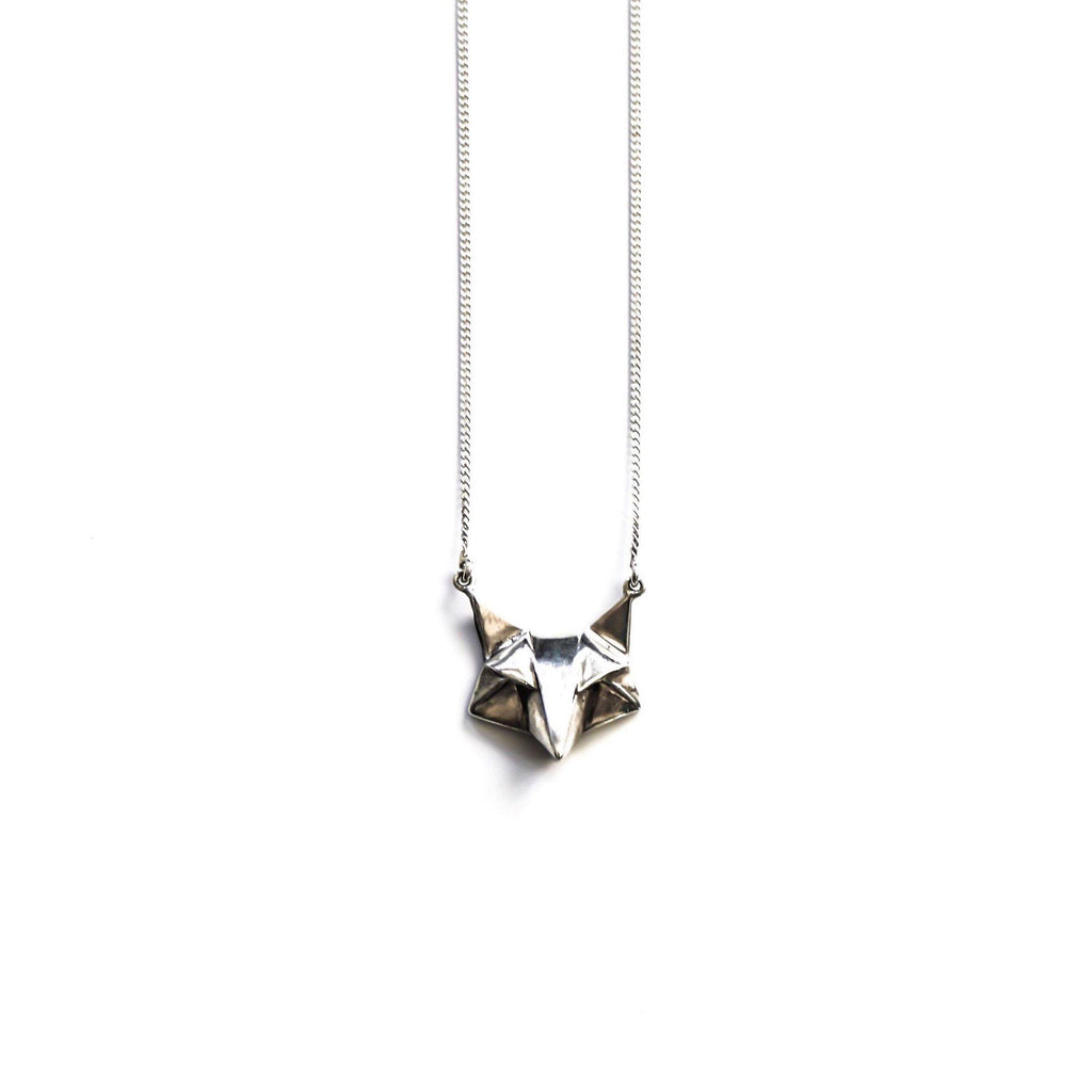 Geo Fox-Necklace-Peaks & Prairies Jewellery