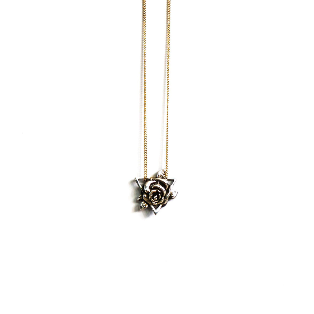 Geo Rose-Necklace-Peaks & Prairies Jewellery