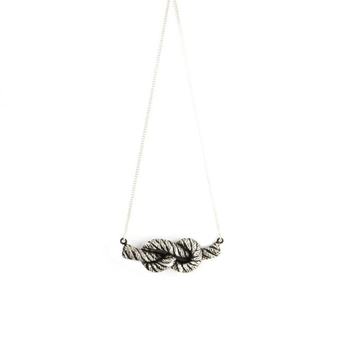 Knotted Rope-Necklace-Peaks & Prairies Jewellery