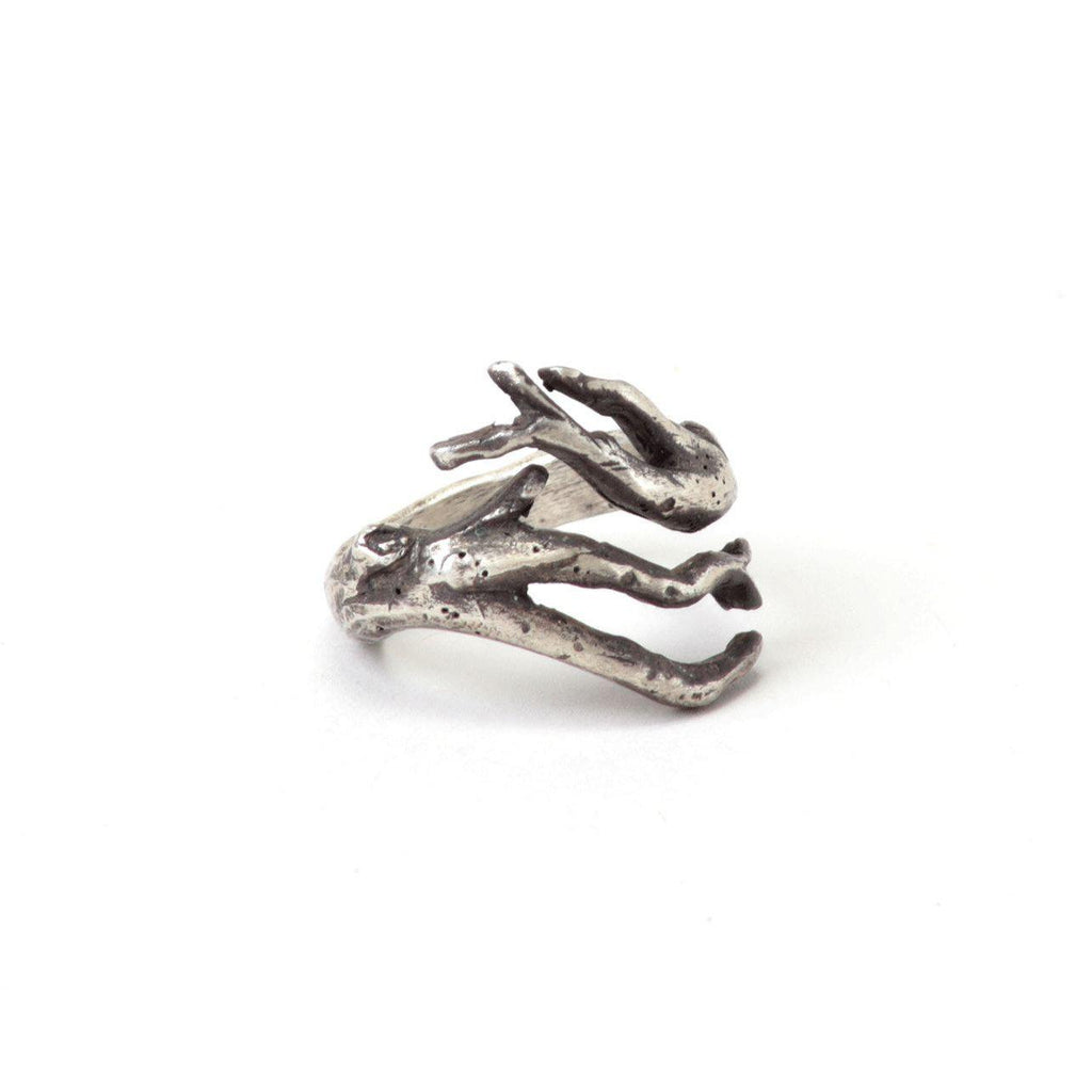 Tree Branch Bypass-Ring-Peaks & Prairies Jewellery