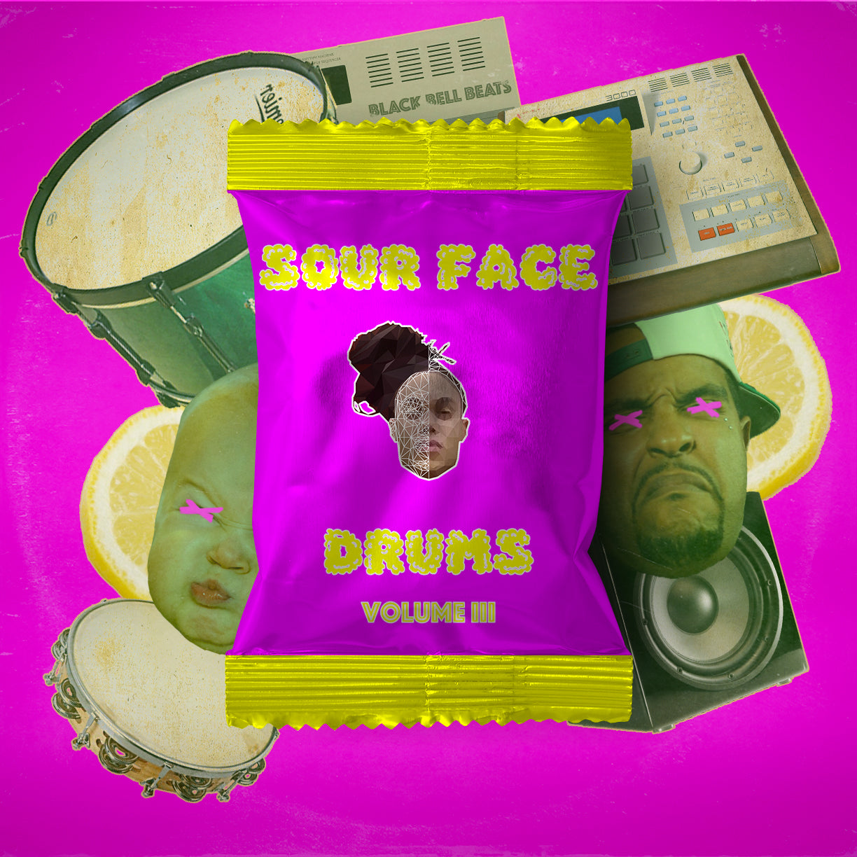 Sour Face Drums Vol 3