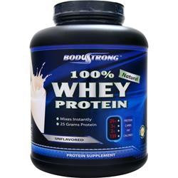BodyStrong 100% Whey Protein - Natural