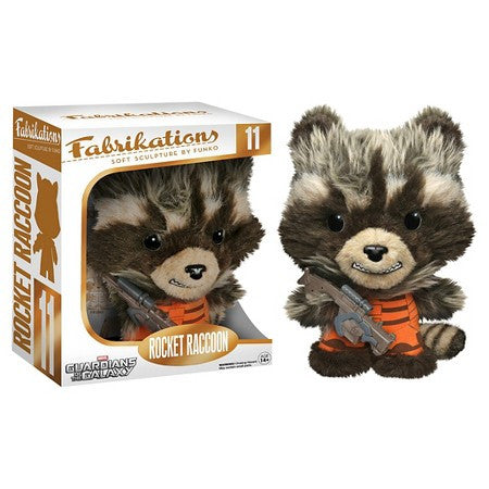 Fabrikations GotG - Rocket Raccoon, color - red