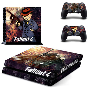 1 Set Fallout 4 Vinyl Stickers (For PS4 Console and Controllers)
